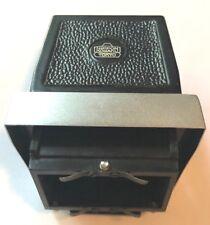 Nikon F Waist level Prism View Finder Black & Aluminum Nippon Kogaku Case as-is