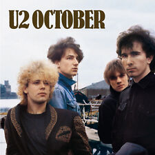 U2 October Remastered 180gm Vinyl LP &