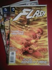Lot of 3 New 52 Flash!! Issues 8, 41 & 44, all in NM condition! Professor Zoom!!