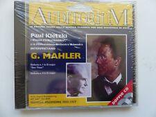 MAHLER Sinfonia in D major / in G major ad0007 ad0008 PAUL KLETZKI  2x CD ALBUM