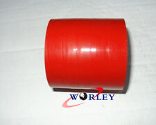 "4"" Inch 102MM Straight Silicone Coupler Hose Turbo Intercooler Intake Pipe RED"