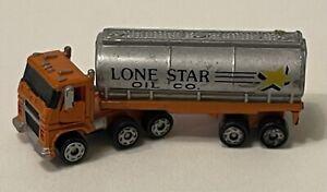 Micro Machines Semi Truck Gas Tanker Lone Star Oil Co Galoob