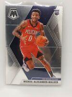 2019-2020 Panini Mosaic Basketball Nickeil Alexander-Walker Rookie Card #205