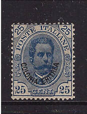 Italienisch Eritrea, Mi-Nr. 6, Umberto, ungebraucht (21412)