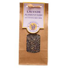 Le Chatelard Lavender - Dry organic culinary lavender 60g
