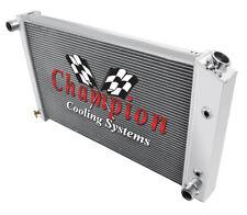 4 Row Perf Champion Radiator for 1970 - 1981 Pontiac Firebird Trans AM V8 Engine
