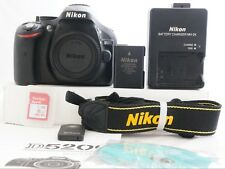 Nikon D5200 24.1MP Digital SLR Camera - Black Body with Shutter Count 1541