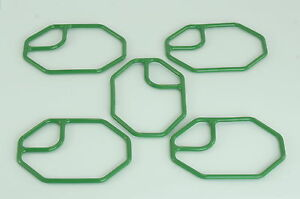 New A/C compressor manifold Gasket for Denso 10PA Series compressor (5 pieces)