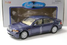 1:18 Welly BMW 745i E65 Limousine blue-purple NEW bei PREMIUM-MODELCARS