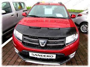 BONNET BRA Dacia Sandero II - Logan II - MCV II since 2012 STONEGUARD PROTECTOR