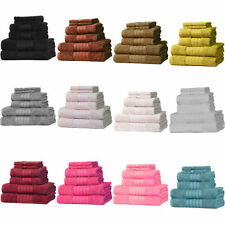 Traditional 100% Cotton Bath Towels