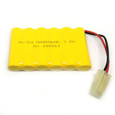 7.2V 400mAh NiCd Rechargeable AA Battery Pack With 5559 2P Plug For RC Toys