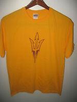 Arizona State University ASU Sun Devils Sports Student Pride College T Shirt Lrg