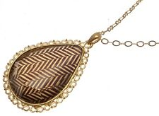 Fashion necklace Statement Necklaces For Women Brown Necklace Brown Pendant 245