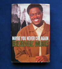 Actor BERNIE MAC'S Memoirs - Maybe You Never Cry Again - SIGNED by Him