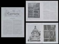 LA CONSTRUCTION MODERNE -1910- PARIS, MAGASIN PRINTEMPS, RENE BINET, ART NOUVEAU