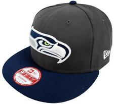 NEW Era NFL SEATTLE SEAHAWKS GRAPHITE Snapback Cap M L 9 FIFTY Limited Edition