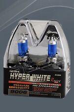 9006 Auto Halogen Light Bulbs Hyper White Xenon Gas Technology HID Appearance