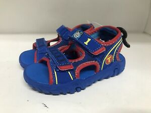 Thomas And Friends TPR Sole Sandals Blue Toddler Size 7