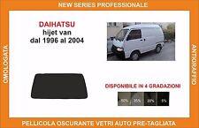 pellicola oscurante vetri dahiatsu hijet van dal 1996 al 2004 kit lunotto