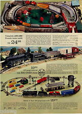 1972 ADVERT Marx .027 Gauge Toy Train Switch N Spur Life Like N Scale