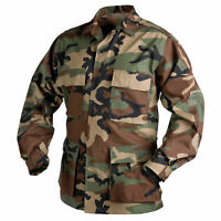 Helikon Tex Bdu Us Woodland Field Shirt Shirt Ripstop Army Battle Dress Uniform