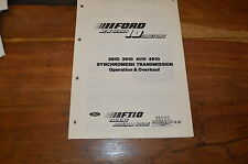 Ford Tractor Workshop Manuals