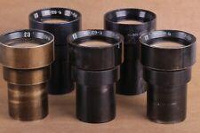 PO-109-1A 1.2/50mm USSR Projector Lens (16КПА-1,2 / 50) lens lomo / LOT 5 PCS.