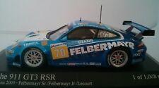 Minichamps 400096970 1/43 2009 Porsche 911 GT3 RSR Felbermayer 24H Le Mans IMSA