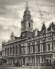 LONDON. Hammersmith town hall from Hammersmith Broadway 1926 old vintage print