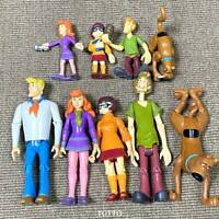 9X Scooby-Doo Mystery Mates Solving Crew Gang Daphne Fred 5'' & 2.5'' Figure Toy