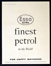 ESSO EXTRA 1955 Finest Petrol in the World BRITISH ADVERT