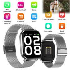 ECG Monitor Bluetooth Smart Watch Men Women Luxury Wristwatch Activity Tracker