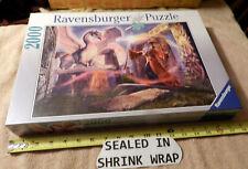 Ravensburger 2000 Piece Jigsaw Puzzle Stonehenge Penfound Wizard Dragon 2003 NEW