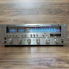 Vintage 1977 Marantz Model 2252B Stereo Receiver, LED Upgrade, Feet, Very Nice