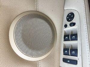BMW E90 E91 door speaker grille 335d 328ix 335 330 320i 325i 328i 330i 335i TAN