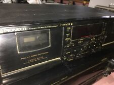 Pioneer Ct-W403R Logic Control Dolby Bc Nr Hx Pro Stereo Double Cassette Deck