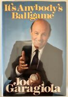 It's Anybody's Ballgame - Joe Garagiola PRISTINE Hardcover First Edition 1988