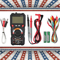 Digital Multimeter TRMS AC/DC Voltage/Current NCV Capacitance Resistance Tester