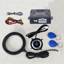 Keyless Entry Car RFID Engine Push Stop Start Button Lock Ignition Starter Alarm