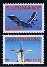 Surinam / Suriname 2006 UPAEP airplane mill Flugzeuge mühle Avion moulin MNH