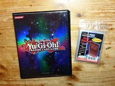 Yu-Gi-Oh Sammelalbum Duelist Portfolio + 100 Ultra Pro Soft Sleeves - NEU & OVP
