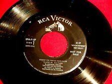 ELVIS PRESLEY~PERFECT FOR PARTIES~MEGA RARE PROMO~MISTAKE ON B SIDE~~ POP 45