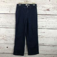 A NEW DAY Stretch High Rise Wide Leg Dark Wash Jeans Women's Size 4