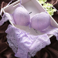 Everyday Women Push Up Bra Set Underwire Sexy Lingerie Lace Brassiere A B C D