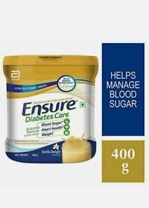 Abbott Glucerna SR Ensure Diabetic Care Sugar Free Vanilla Flavor PACK OF 400gm
