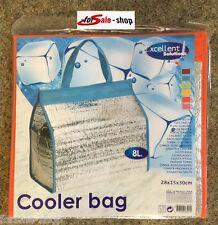 Kühltasche Kühlbox Thermotasche Isoliertasche Campingtasche Tasche 8L orange