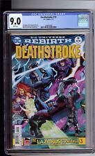Deathstroke #19 Cgc 9.0