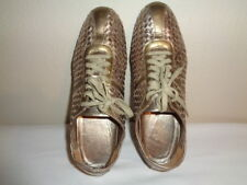 COLE HAAN Women's Bria woven pattern Leather Sneakers Size 11 B