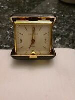 Phinney Walker Travel Alarm Clock | Vintage | Radium Face | Pristine